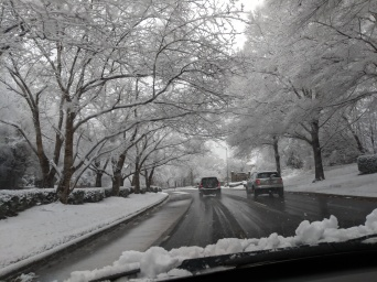 Snow in Charlotte, NC